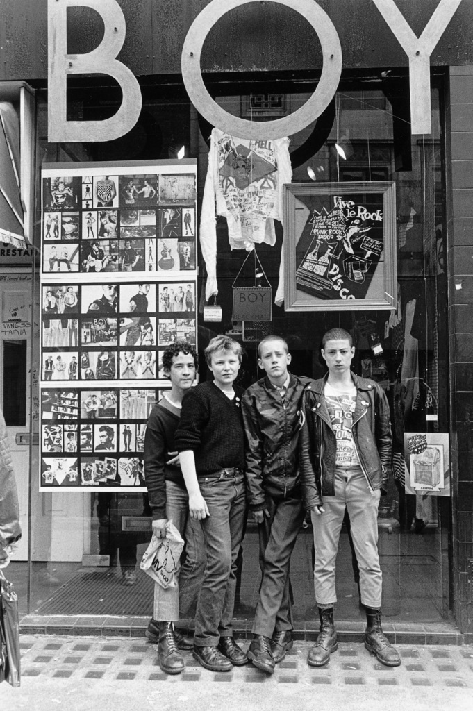 King's Road Boy is Ad Hoc today © Janette Beckman