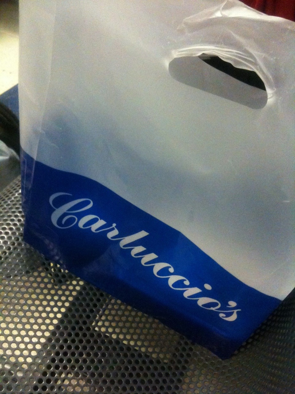 Carluccio's take away