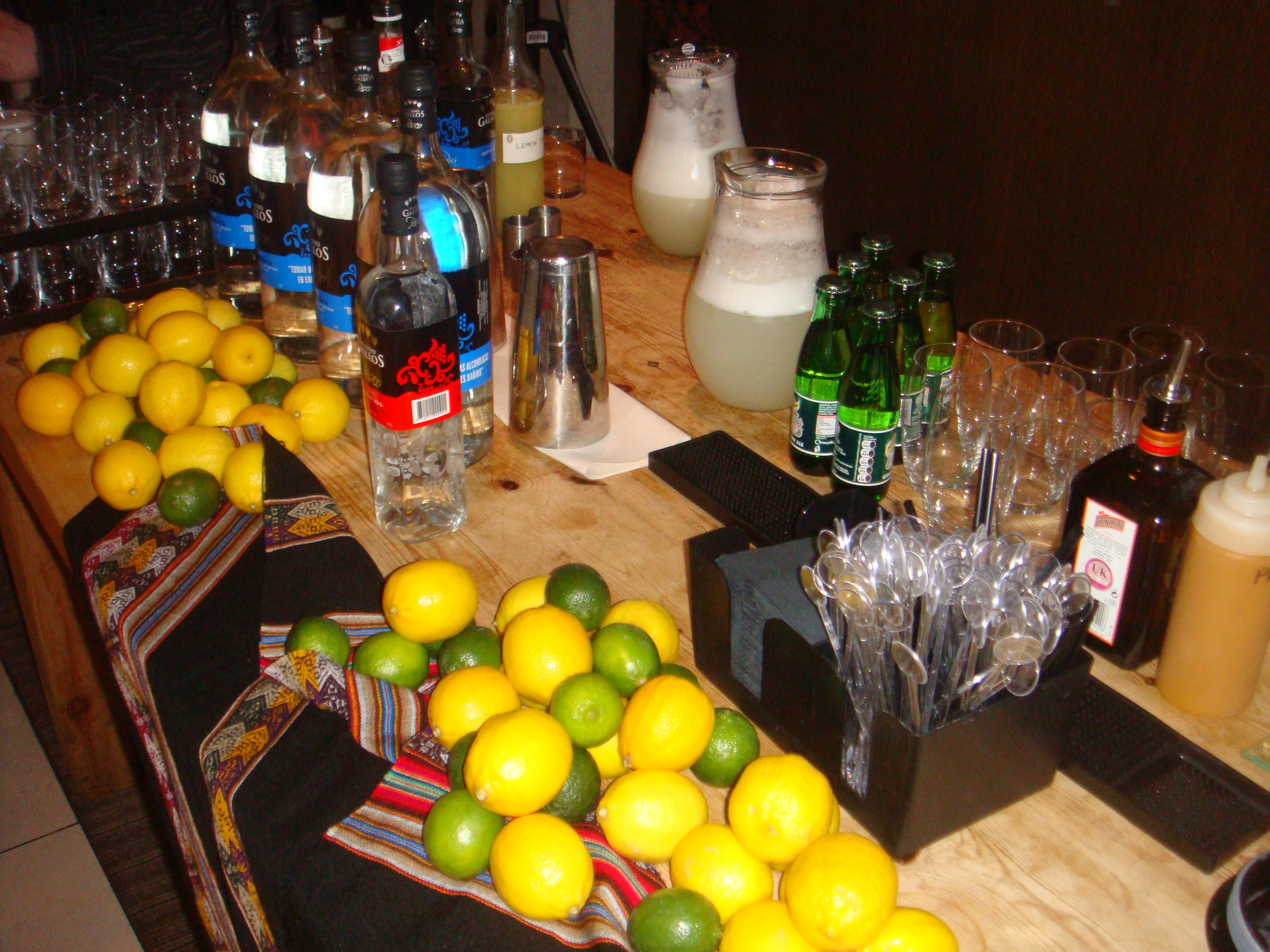 Flavours of peru with chef virgilio martinez king 39 s road - Pisco sour ingredientes ...