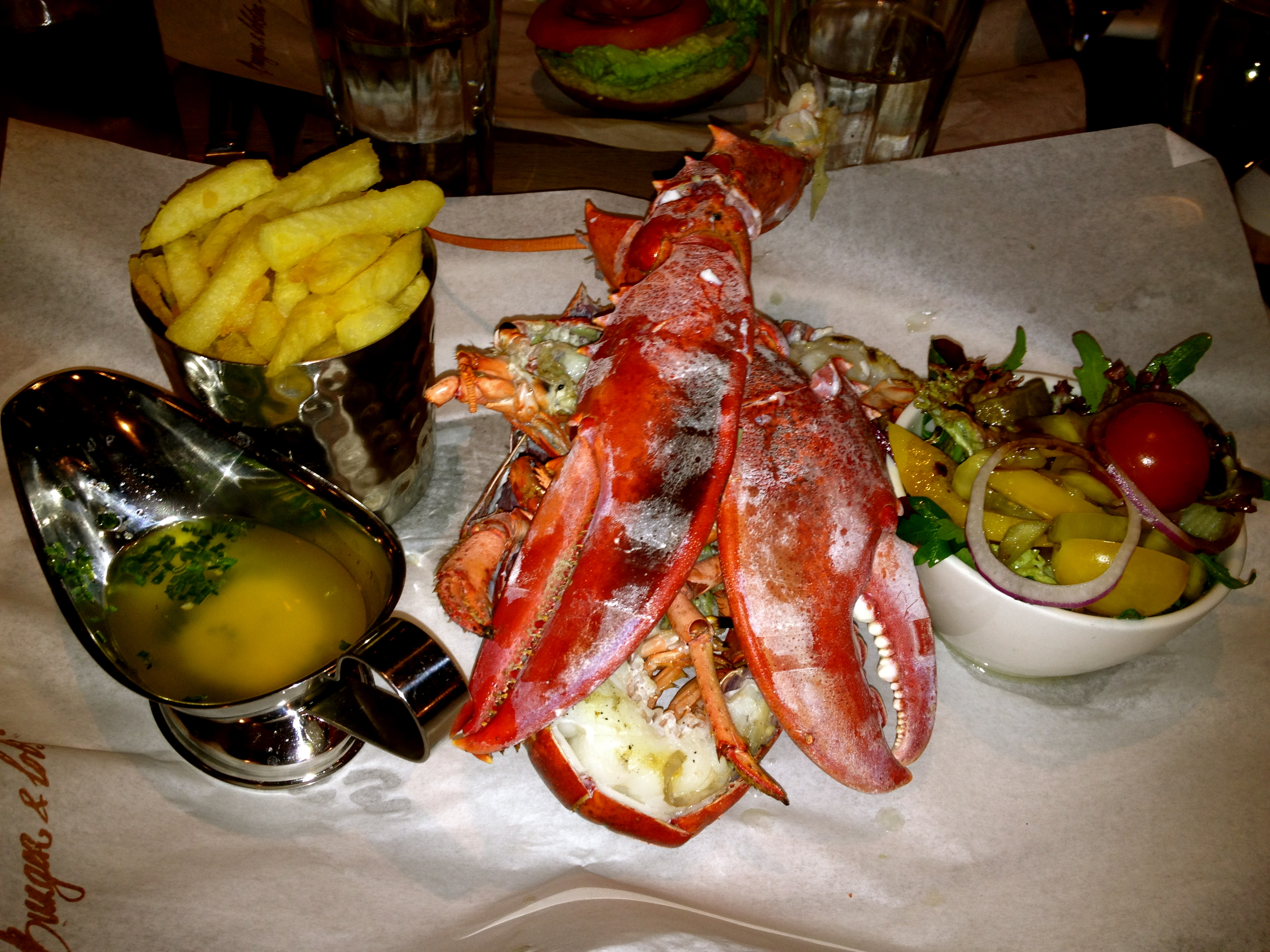 Burger and Lobster in Mayfair - King's ...