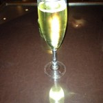 Champagne For Life at Sushinho