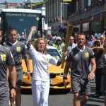 London 2012: The Olympic Torch on King's Road