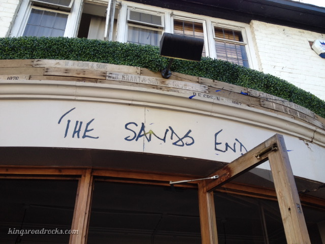 The Sands End Pub