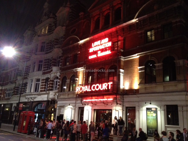 Love and Information at The Royal Court Theatre, London
