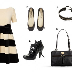Fashion: Black Velvet Cocktail Outfit