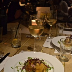 A Cosy Evening of Good Food and Wine at The Builders Arms