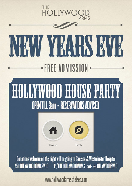 The Hollywood Arms New Year's Eve
