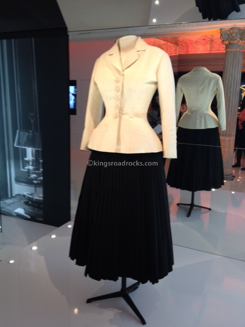Dior exhibition at Harrods