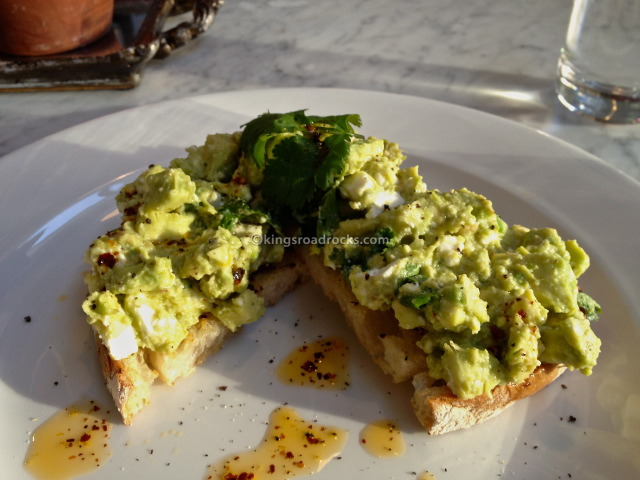 No. 11 Pimlico - Avocado on toast