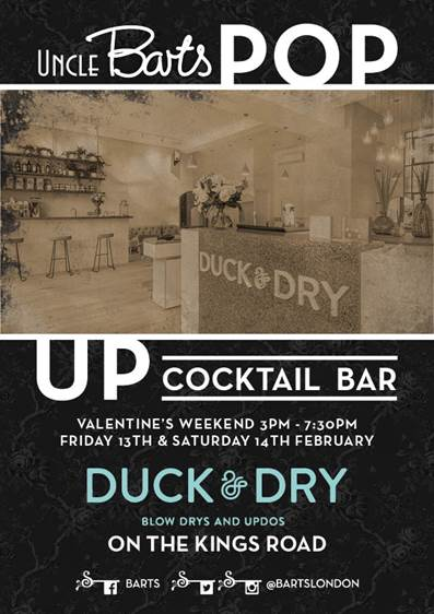 Uncle Barts Pop-up at Duck & Dry
