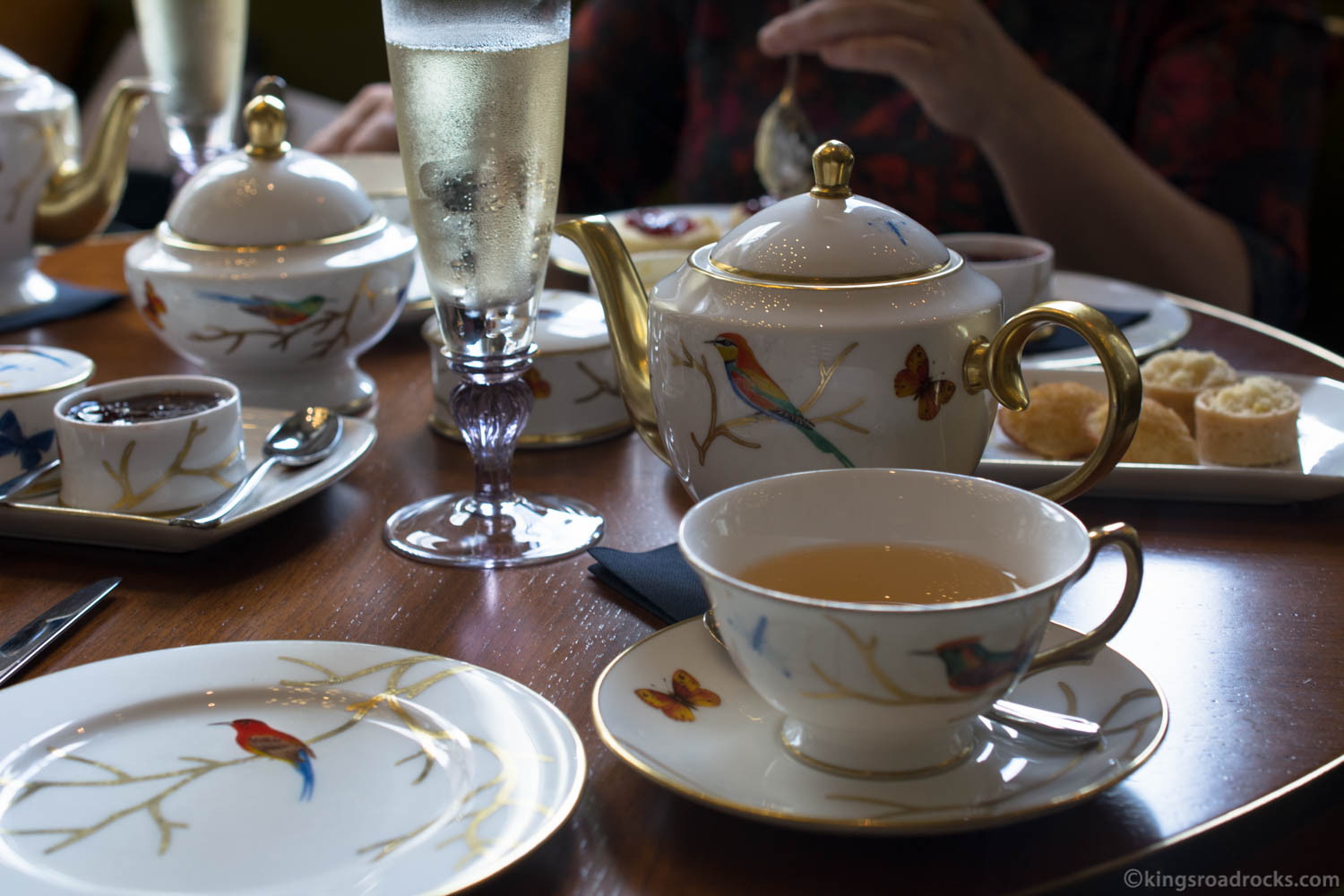 Afternoon Tea at The Rosebery, Mandarin Oriental