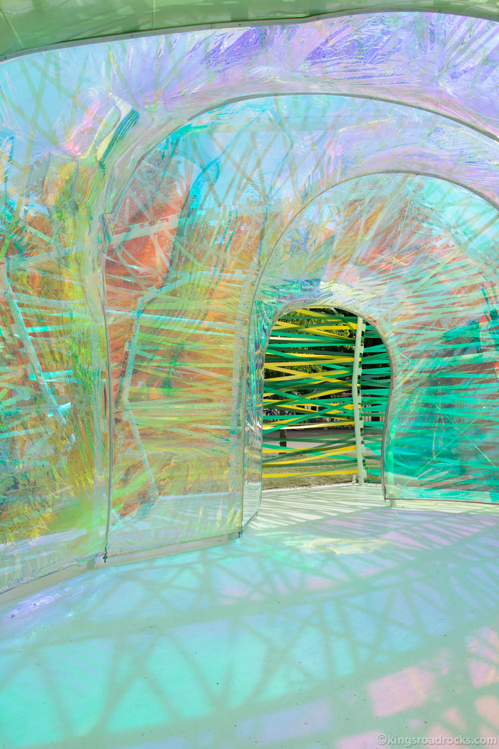 Serpentine Gallery Summer Pavilion 2015 Designed by Selgascano