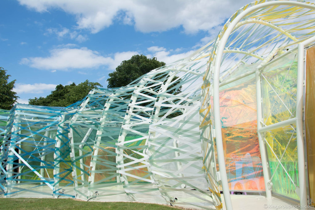 Serpentine Gallery Summer's Pavilion 2015 Designed by Selgascano