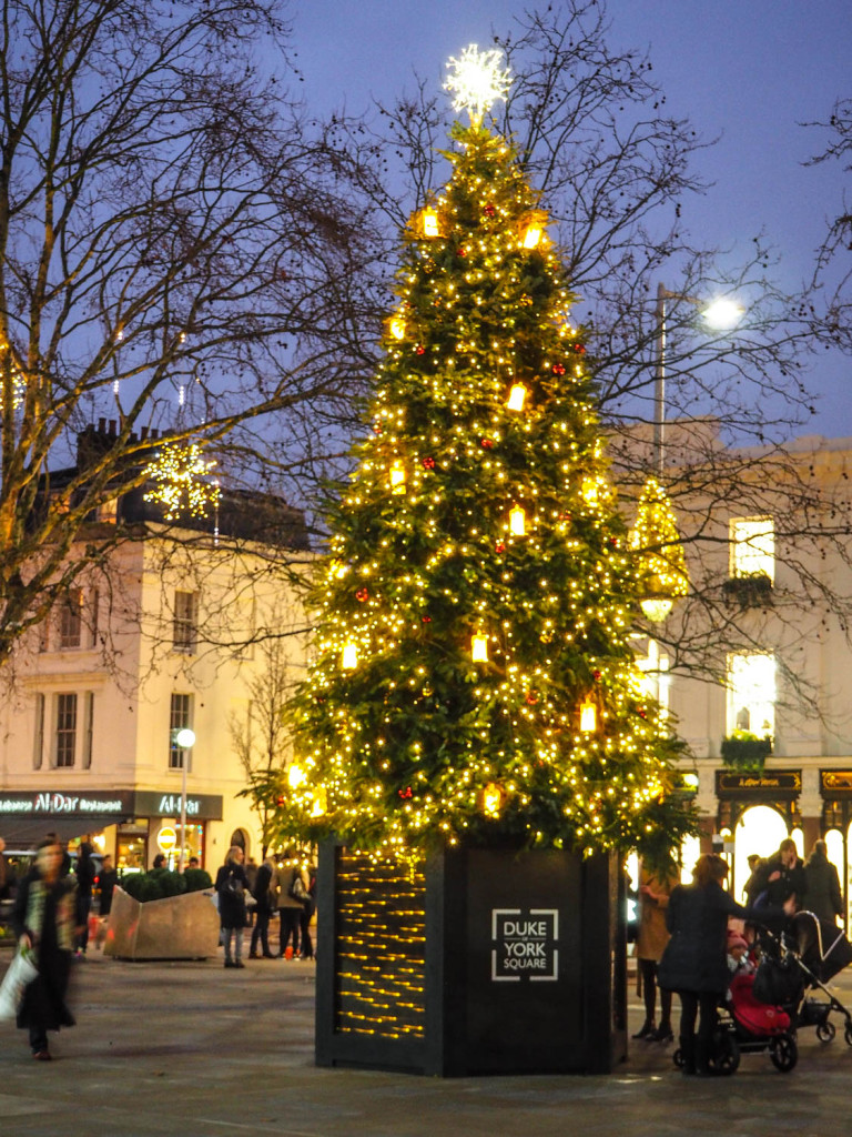 Duke of York Square Christmas Tree