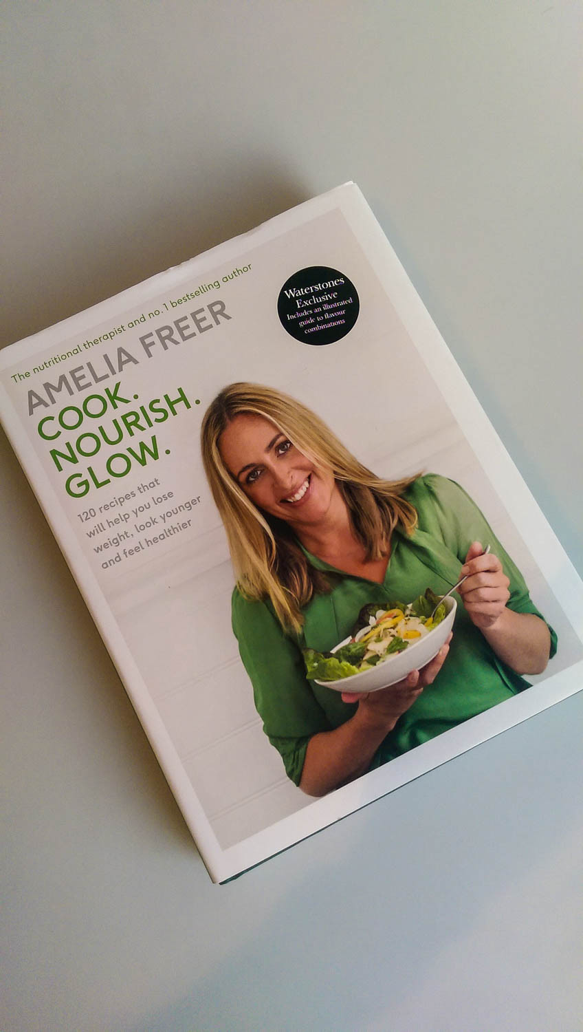 Amelia Freer's Cook. Nourish. Glow. at Waterstone's and The Nail Boutique