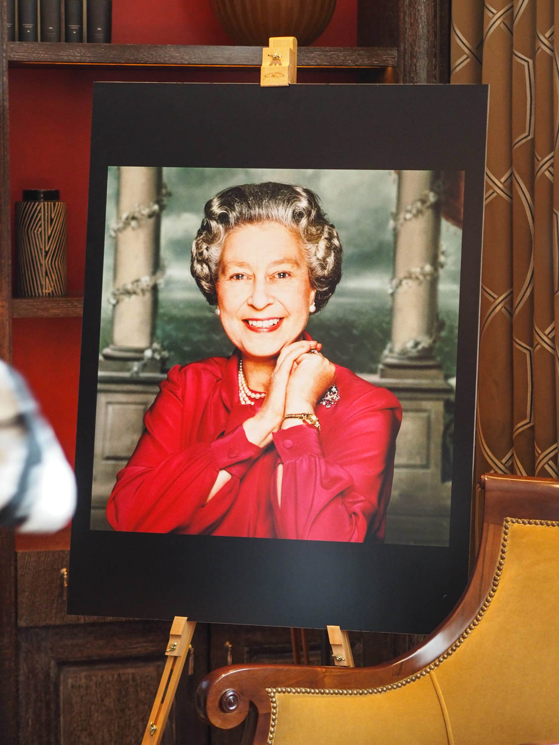 Celebrating The Queen's 90th Birthday at Corinthia Hotel London