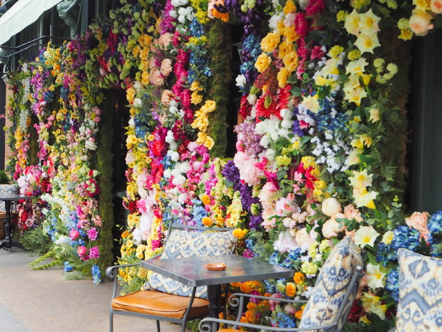 The Ivy Chelsea Garden Gets Ready for RHS Chelsea Flower Show
