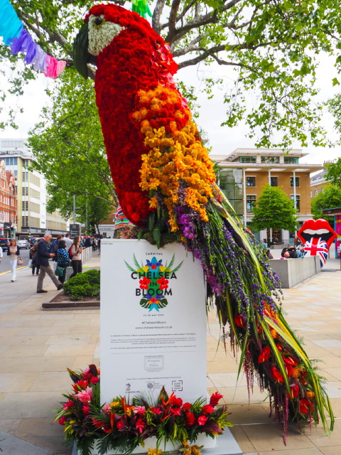 It's Carnival Time at Chelsea In Bloom