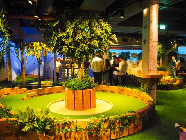Swingers The Crazy Golf Club in London